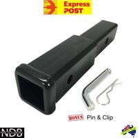 """12"""" Inch Hitch Extender Extension Tow Bar Trailer 4WD Car 2"""" EXPRESS & WARRANTY"""