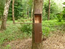 Tawny  owl nest box Hand made by Homes for woodland folk( Upright design))