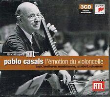 CD album: Pablo Casals: l'émotion du violoncelle. sony 3 cds. C4