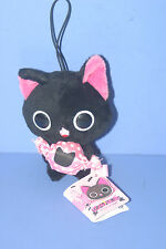 "The Gothic World of Nyanpire Black Cat Candy Mascot Plush Doll in JAPAN 4.4"" #2"