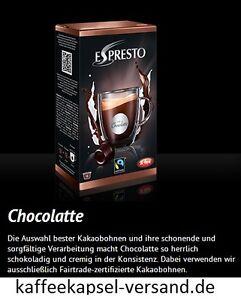 K-fee Espresto - CHOCOLATTE - 6x16=96 Kapseln - 2,07€ / 100 Gramm