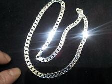 collana  argento 925 massiccio grumetta pesante 37gr  45 cm necklace silver 925