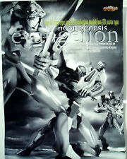 Eva Evangelion Black & White Anime Poster Japan Kaiyodo