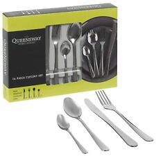 16 Piece Stylish Kitchen Stainless Steel Cutlery Set Tableware Dining Rust Free
