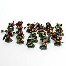 Warhammer 40k Rogue Trader-Space Orks/Classic Ork Boyz (Plástico y metal)