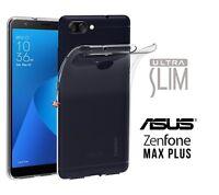 Cubierta de la caja Tpu Silicone caucho Delgado para Asus Zenfone Max Plus M1
