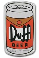 2019 THE SIMPSONS DUFF BEER Silver Proof Coin