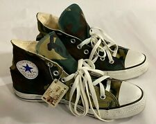 Converse ALL STAR High Top Woodland Camouflage mens 7 shoes limited military