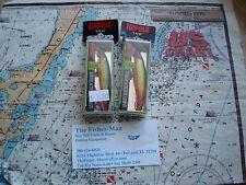2 RAPALA XR-6 HOT STEEL XTREME ACTION SLASHBAIT NEW FISHING LURES