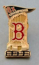 BOSTON RED SOX 8X WORLD SERIES CHAMPIONS TROPHY PIN EXCLUSIVE!!