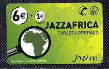 Tarjeta Telefonica Jazzafrica de Jazztel (CX-820)