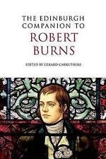 The Edinburgh Companion to Robert Burns by Edinburgh University Press...