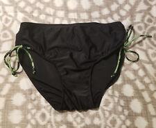 Croft & Barrow Bikini Swim Bottoms Size 14 Black Side Tie Tankini