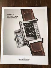 Collection Catalogue Jaeger-le-coultre 2018/19