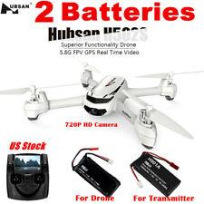 Hubsan X4 H502S 5.8G FPV RC Quadcopter 720P Headless Follow Me GPS RTF,3 Battery