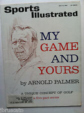 1963 ARNOLD PALMER MY GAME & YOURS - HIS GOLF CONCEPTS Sports Illustrated