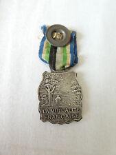 Medaille civile de la Mutualité Francaise Ch VALLET