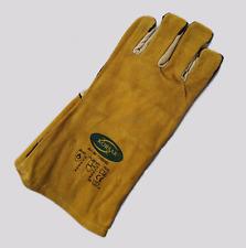 Schweißerhandschuhe MAG Leder Hitzeschutzhandschuhe Gr. 10