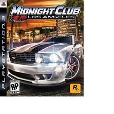 MIDNIGHT CLUB LOS A NGELES AUTO VIDEOGIOCO GAME GIOCO USATO PLAYSTATION 3 PS3
