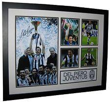 Alessandro Del Piero Signed Juventus Photo memorabilia Framed + COA