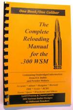 .300 Winchester Short Mag  Reloading Manual LOADBOOKS USA  300 WSM  NEW