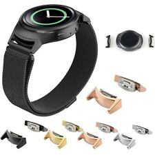 For Samsung Galaxy Gear S2 RM720 2x Stainless Steel Watch Band Connector Adapter