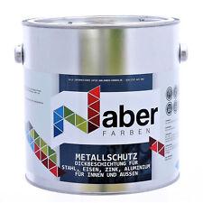 (11,19 €/L) 2,5 L Metallschutzlack - RAL 7016  ANTHRAZITGRAU- Matt
