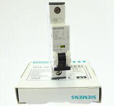 Siemens 5SY81 C10 Sicherungsautomat 5SY8110-7 Leitungsschutzschalter 10A 40kA 1P