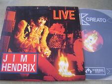 "JIMI HENDRIX LIVE KOREA VINYL LP 12"" 9TRACK UNIQUE COVER! psych blues 33RPM RARE"