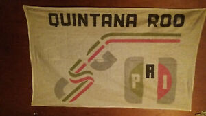 Political Street Banner from 1988 Mexican Presidential Election supporting PRI
