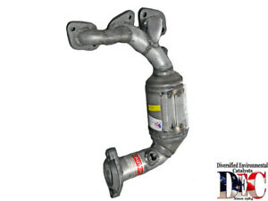 Exhaust Manifold And Converter Assy   DEC Catalytic Converters   MAZ2168F