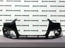 AUDI A4 S LINE COMPETITION 2012-2016 FRONT BUMPER IN BLACK GENUINE [A431]