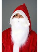 Plüschbart weiß Weihnachtsmann Nikolaus Bart
