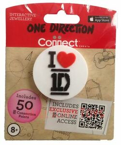 10 x 1 Direction Pin BADGES -  1D  Party Bag Fillers - NEW