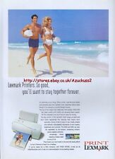 Lexmark Jetprinter 7000 Printer 1997 Magazine Advert #2086