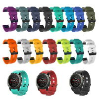 Wrist Strap Quick Release Watch band Silicone For Garmin Fenix 5 5X 5S plus -