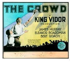 The Crowd - 1928 - King Vidor James Murray - Vintage b/w Silent Film DVD