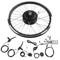 20'' Hinterrad/Vorderrad Elektro-Fahrrad Kit Ebike Elektrofahrrad Umbausatz LCD