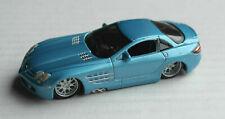 Maisto Mercedes-Benz SLR McLaren hellblaumetallic Sportwagen Auto Car light blue