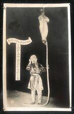 More details for maskelyne's theatre - c.1928 abdul hamel performing indian rope trick postcard