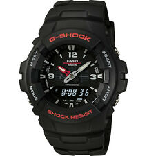 Casio Men's G-SHOCK Quartz Watch With Black Dial Analogue Digital Display and