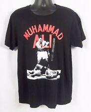 Muhammad Ali Knock Out Men's Graphic T-Shirt Black NWT Size XL 100% Cotton