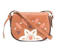 Radley London Kempton Small Leather Saddle Bag Hippie Boho Bohemian Retails $208