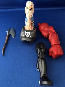 Marvel Legends BAF Build A Figure Action Odin Red Hulk Space Venom Ares Axe