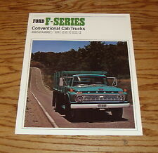 Original 1966 Ford Truck F-Series Conventional Cab Sales Brochure 66