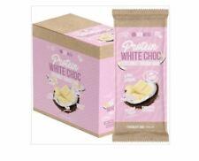 12 x 100g VITAWERX Protein White Chocolate Bar Coconut Rough - 12x100g