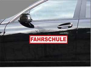 Magnetschild FAHRSCHULE 30 x 6cm Haftschild PKW Schild lackschonend Auto