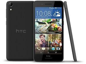 "New HTC Desire 728 Dual Sim ( Unlocked ) 4G LTE 16GB 5.5"" 13MP Black Free P&P UK"