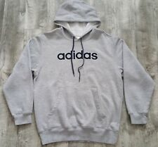 2006 adidas Spellout Heather Gray Hoodie size Medium