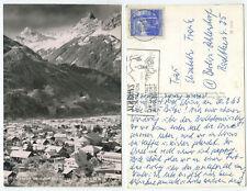 37809 - Schruns gegen Zimba - Echtfoto - Ansichtskarte, gelaufen 20.2.1963